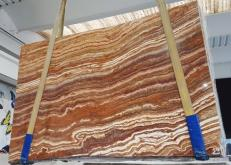Fornitura lastre grezze lucide 2 cm in onice naturale ONICE PASSION U0283. Dettaglio immagine fotografie