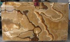 Fornitura lastre grezze lucide 2 cm in onice naturale ONYX CAPPUCCINO E-OA14637. Dettaglio immagine fotografie