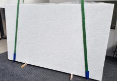 Fornitura lastre grezze lucide 2 cm in marmo naturale OPAL WHITE 1375. Dettaglio immagine fotografie
