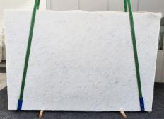 Fornitura lastre grezze lucide 3 cm in marmo naturale OPAL WHITE 1382. Dettaglio immagine fotografie