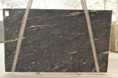 Fornitura lastre grezze levigate 3 cm in granito naturale orion Q02425. Dettaglio immagine fotografie