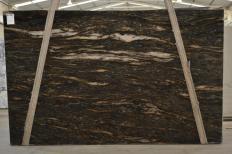Fornitura lastre grezze lucide 3 cm in granito naturale ORION 2424. Dettaglio immagine fotografie