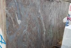 Fornitura blocchi segati 139 cm in Dolomite naturale PALISSANDRO BRONZO NUVOLATO Z0165. Dettaglio immagine fotografie