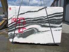 Fornitura blocchi grezzi 190 cm in marmo naturale PANDA 1771M. Dettaglio immagine fotografie