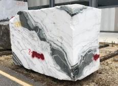 Fornitura blocchi grezzi 84 cm in marmo naturale PANDA 1517M. Dettaglio immagine fotografie