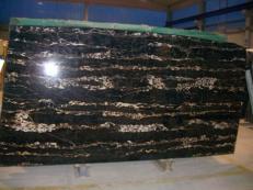 Fornitura lastre grezze lucide 2 cm in marmo naturale PORTORO EXTRA SR-2010017. Dettaglio immagine fotografie