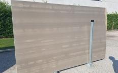 Fornitura lastre levigate 2 cm in marmo naturale RIVER GREY ZL0091. Dettaglio immagine fotografie