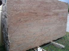Fornitura lastre grezze lucide 2 cm in granito naturale ROSEWOOD EDM25112. Dettaglio immagine fotografie