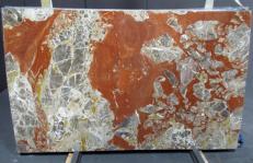 Fornitura lastre grezze lucide 2 cm in marmo naturale ROSSO ANTICO DM040. Dettaglio immagine fotografie