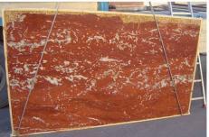 Fornitura lastre grezze lucide 2 cm in marmo naturale ROSSO FRANCIA LIGHT E-2193. Dettaglio immagine fotografie