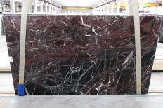 Fornitura lastre grezze lucide 2 cm in marmo naturale ROSSO LEVANTO 1712M. Dettaglio immagine fotografie