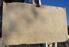 Fornitura lastre grezze lucide 2 cm in marmo naturale SAHARA GOLD E-41104. Dettaglio immagine fotografie