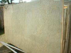 Fornitura lastre grezze lucide 2 cm in marmo naturale SAHARA GOLD EM_375. Dettaglio immagine fotografie