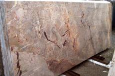 Fornitura lastre grezze lucide 2 cm in marmo naturale SARRANCOLIN IM002027. Dettaglio immagine fotografie