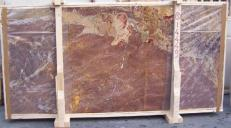 Fornitura lastre grezze lucide 2 cm in marmo naturale SARRANCOLIN E_14449. Dettaglio immagine fotografie