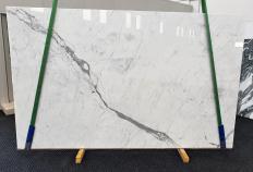 Fornitura lastre grezze lucide 3 cm in marmo naturale STATUARIETTO 1416. Dettaglio immagine fotografie