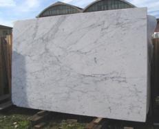 Fornitura lastre grezze lucide 3 cm in marmo naturale STATUARIETTO E-US524. Dettaglio immagine fotografie