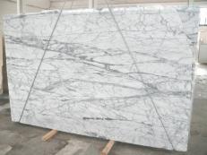 Fornitura lastre grezze lucide 2 cm in marmo naturale STATUARIETTO SR_7796. Dettaglio immagine fotografie