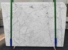 Fornitura lastre grezze lucide 2 cm in marmo naturale STATUARIO CLASSICO 1278. Dettaglio immagine fotografie