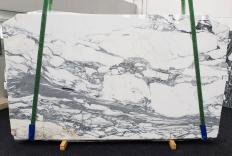 Fornitura lastre grezze lucide 2 cm in marmo naturale STATUARIO CORCHIA 14191. Dettaglio immagine fotografie