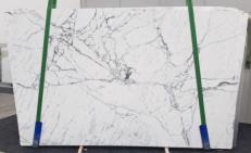 Fornitura lastre grezze lucide 2 cm in marmo naturale STATUARIO VENATO SG 973. Dettaglio immagine fotografie