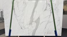 Fornitura lastre grezze lucide 2 cm in marmo naturale STATUARIO VENATO GL 959. Dettaglio immagine fotografie
