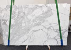 Fornitura lastre lucide 3 cm in marmo naturale STATUARIO VENATO 1187. Dettaglio immagine fotografie