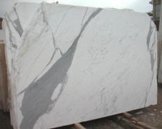 Fornitura lastre grezze lucide 2 cm in marmo naturale STATUARIO E-O482. Dettaglio immagine fotografie