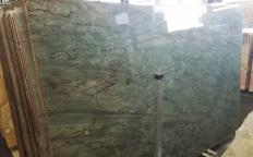 EMERALD GREEN Supply (Italy) polished slabs Z0209 , Slab #02 natural quartzite