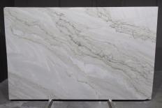 SUPREME PEARL Suministro (Italia) de planchas pulidas en cuarcita natural 1492G , Bnds 2cm