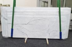 STATUARIETTO polished slabs 1290 , Slab #02 natural marble