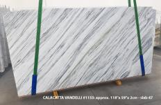 Calacatta Vandelli Supply (Italy) polished slabs 1153 , Slab #47 natural marble