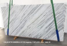 Calacatta Vandelli Supply (Italy) polished slabs 1153 , Slab #39 natural marble