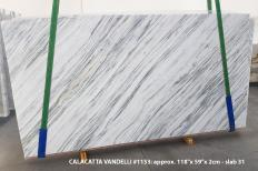 Calacatta Vandelli Supply (Italy) polished slabs 1153 , Slab #31 natural marble