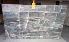 BRITA BLUE Supply (Italy) polished slabs Z0359 , Slab #09 natural quartzite