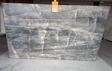 BRITA BLUE Supply (Italy) polished slabs Z0359 , Slab #17 natural quartzite