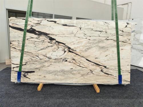 STATUARIO CORAL Fornitura (Italia) di lastre grezze lucide in marmo naturale 1328 , Bundle #03
