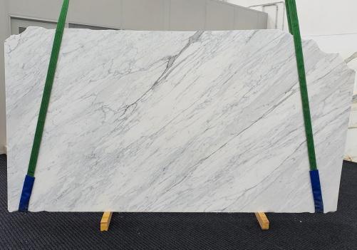 CALACATTA CARRARA Supply (Italy) honed slabs 1313 , Slab #01 natural marble