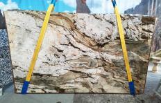FUSION MISTIC Fornitura (Italia) di lastre grezze lucide in quarzite naturale U0113 , Slab #40
