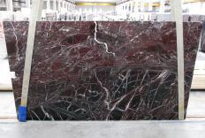 ROSSO LEVANTO Fornitura (Italia) di lastre grezze lucide in marmo naturale 1712M , Slab #10
