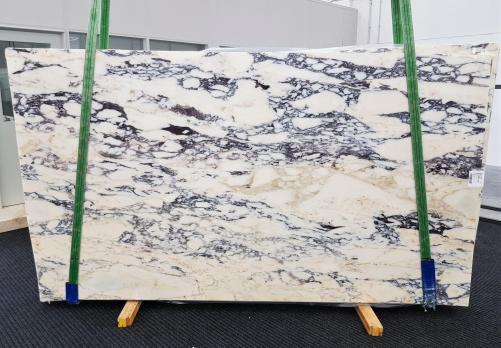 CALACATTA MONET Fourniture (Italie) d' dalles brillantes en marbre naturel 1371 , Slab #51