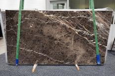 MARRON IRIS Supply (Italy) polished slabs 1404 , Slab #10 natural marble