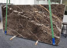 MARRON IRIS Supply (Italy) polished slabs 1404 , Slab #18 natural marble