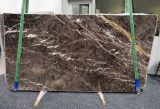 MARRON IRIS Supply (Italy) polished slabs 1404 , Slab #26 natural marble
