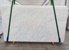 BIANCO CARRARA C Fourniture (Italie) d' dalles brillantes en marbre naturel 1441 , Slab #01