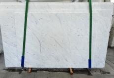 BIANCO CARRARA C polierte Unmaßplatten 1441 aus Natur Marmor , Slab #37: Lieferung, Italien