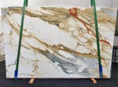 CALACATTA MACCHIAVECCHIA polierte Unmaßplatten 1422 aus Natur Marmor , Slab #19: Lieferung, Italien