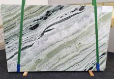 GREEN BEAUTY polierte Unmaßplatten 1452 aus Natur Marmor , Slab #30: Lieferung, Italien