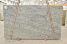 OCEAN BLUE Fourniture (Italie) d' dalles brillantes en quartzite naturel 2382 , Bnd #26294