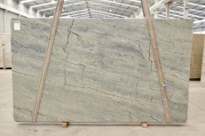 OCEAN BLUE Supply (Italy) polished slabs 2382 , Bnd #26295 natural quartzite